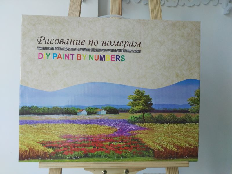 flower picture canvas painting set artist oil color set for beginners GX25856 drawing gift set