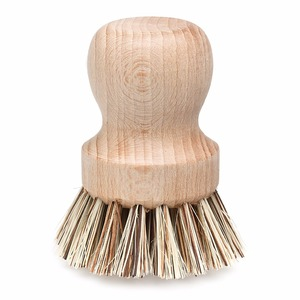 Natural Beech Wood Pot Brush For Cleaning or Scrubbing Purposes
