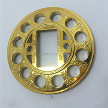 abs plastic imitation gold color plating , fake gold color , gold looking plating processing seveice