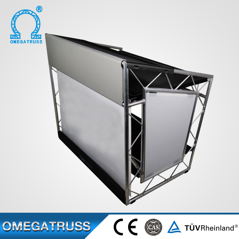 Manufacture Professional 150x150x1150mm aluminum dj truss booth
