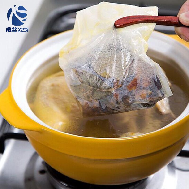 Pabrik OEM Serut Makanan Memasak Biodegradable Bumbu Filter Anyaman Tas PP Memasak