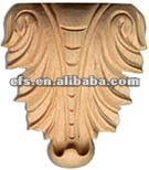 fashion wood christmas ornament with hand carving(EFS-YCY-0419)