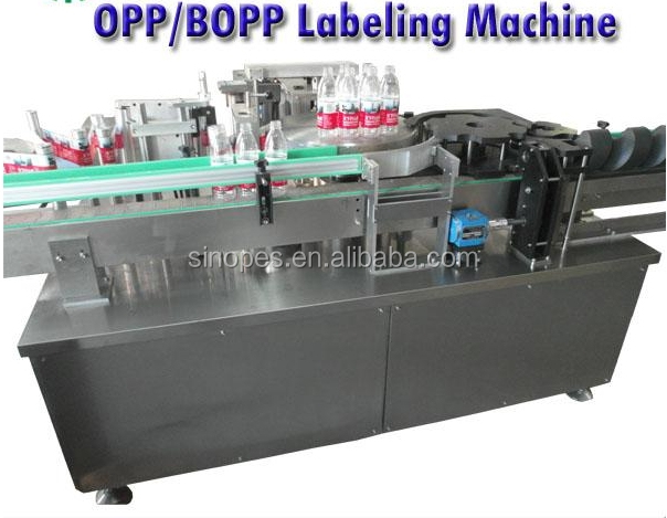 Hot Melt Glue Labeling Machine (OPP/BOPP Labeling Machine)