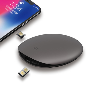 2019 new design bluetooth wifi triple dual sim card adapter for iphone