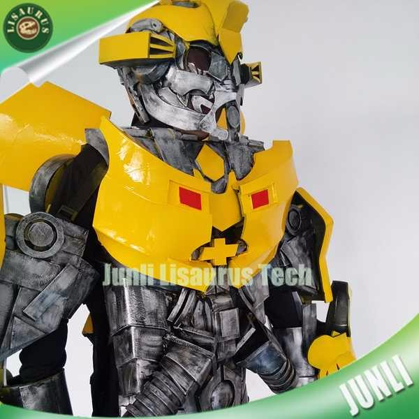 Lisaurus-CH1574 Hand Makes Transforming Bumblebee Costumes Hand Painted Suits