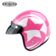 Unique Ladies half face scooter helmet DOT decals motorbike helmets half face motorcycle helmets