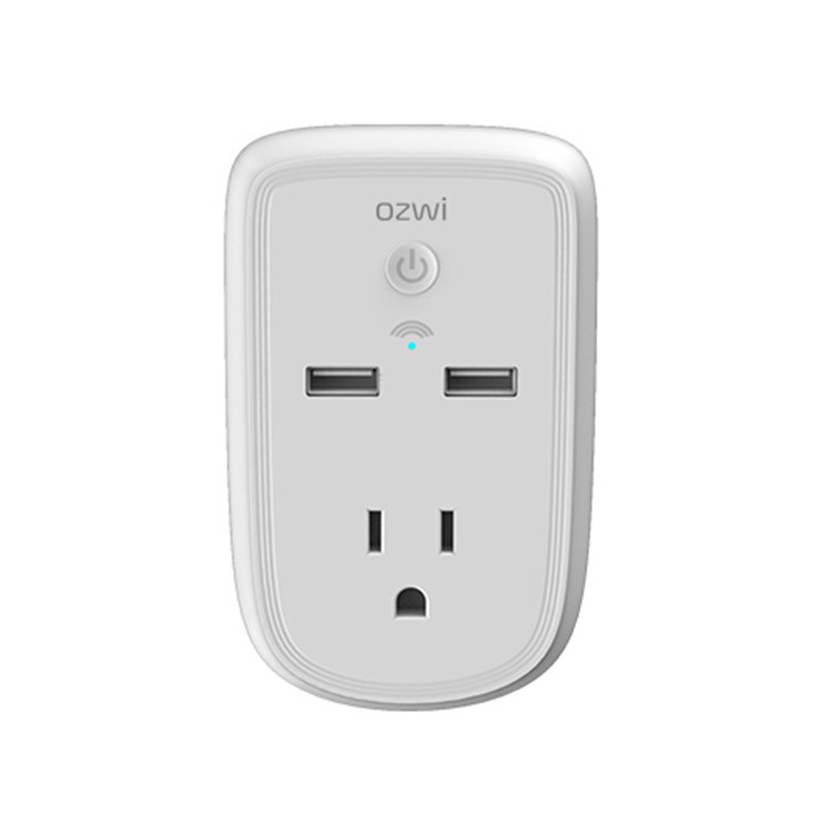 Smart home advanced leakproof power supply wifi connection mobile phone remote control socket plug