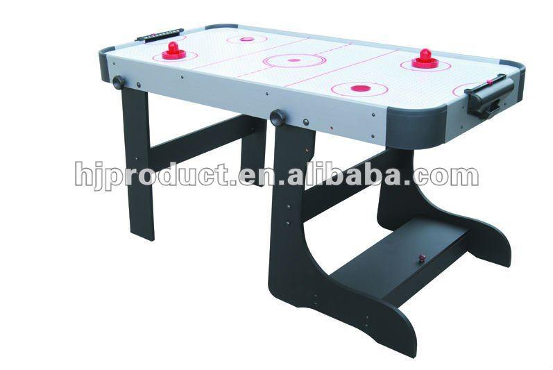 De Air Hogar 4ft5ft6ft Plegable Calidad Alta Aire HockeyMesa Hockey OXkiZuP