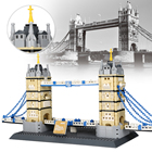 Wange ABS Famous Architecture The London Bridge Tower Souvenirs Building Block Toys For Kids
