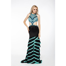 Trumpet Mermaid Hollow Out Sexy Lebanon Designer Evening Dresses