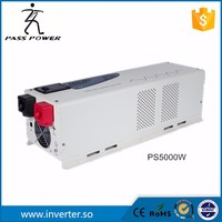 CE Car 5000W Power Inverter Converter 15000 Watts Peak DC 24V/48V to AC 220V for solar/wind,office equipments and outdoor works