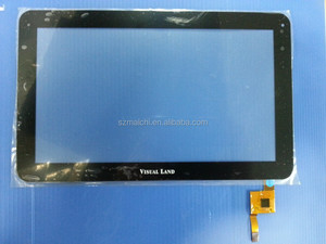 "Black Original 10.1"" Visual Land Prestige 10 Tablet touch screen digitizer glass touch panel Sensor TOPSUN_F0004_A1"
