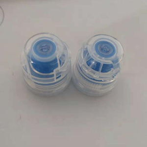 28mm sport water plastic flip top cap for bottle
