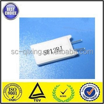5W cement ceramic fixed wirewound resistor