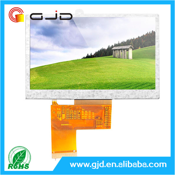 High quality 480 * 272 pixels 4.3 -inch color screen Liquid crystal display