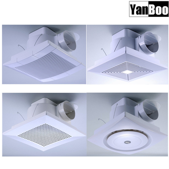 10inch,12inch,14inch Abs Plastic Ceiling Mounted Bathroom Exhaust ...