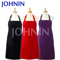 Multicolor customized logo unisex waterproof kitchen apron for adult