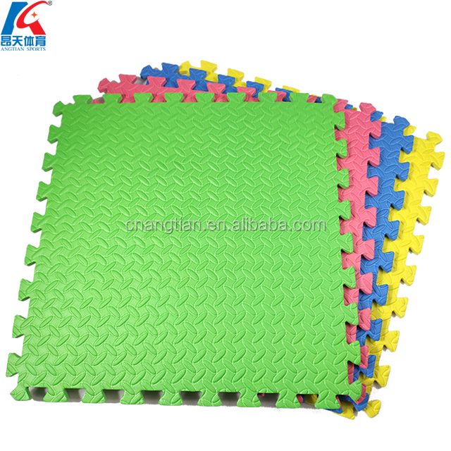 factory cheap eva foam kids puzzle jigsaw tiles baby play interlocking puzzle mats