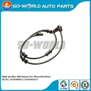 For MERCEDES-BENZ M-CLASS ML 350 4MATIC 2005 - Onwards Front ABS Brake Sensor OE NoA1645401617