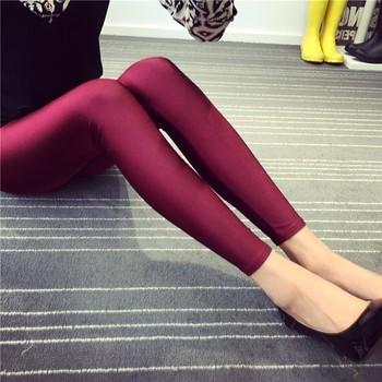 34a8841c1e5ca Shiny Spandex Pink Satin Leggings - Buy Pink Leggings,Satin ...