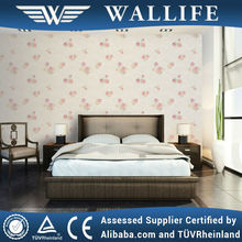 YX20504 country style textiled non woven wallpaper textured walls