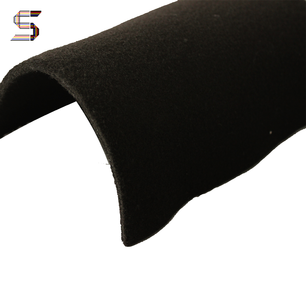Free samples Needle Punch Thick Black Felt <strong>Materials</strong>