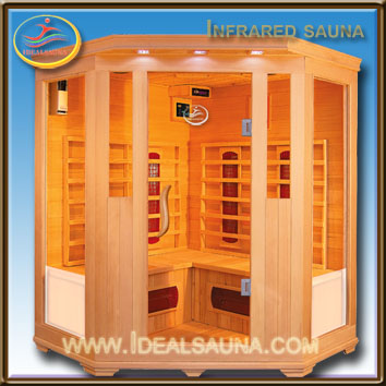 far infrared sauna &ready wooden houses