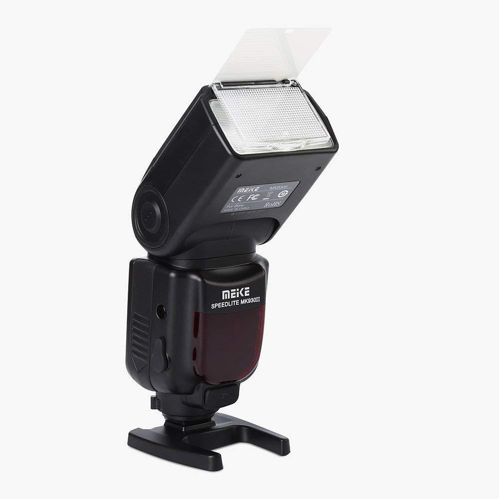 Camera Flashlight Meike MK930II-S Flash Speedlite Accessory Digital On-Camera Mount Flashlight Photography Accessory for Sony DSLR Cameras