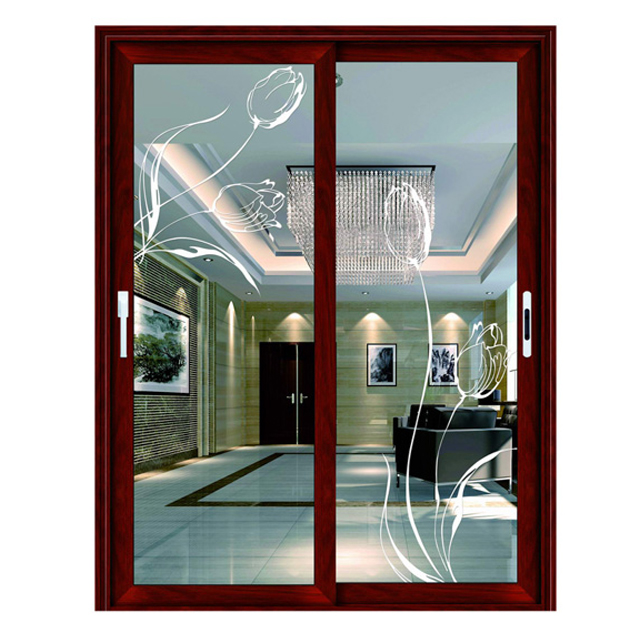 Four panels design cheap sliding patio doors prices