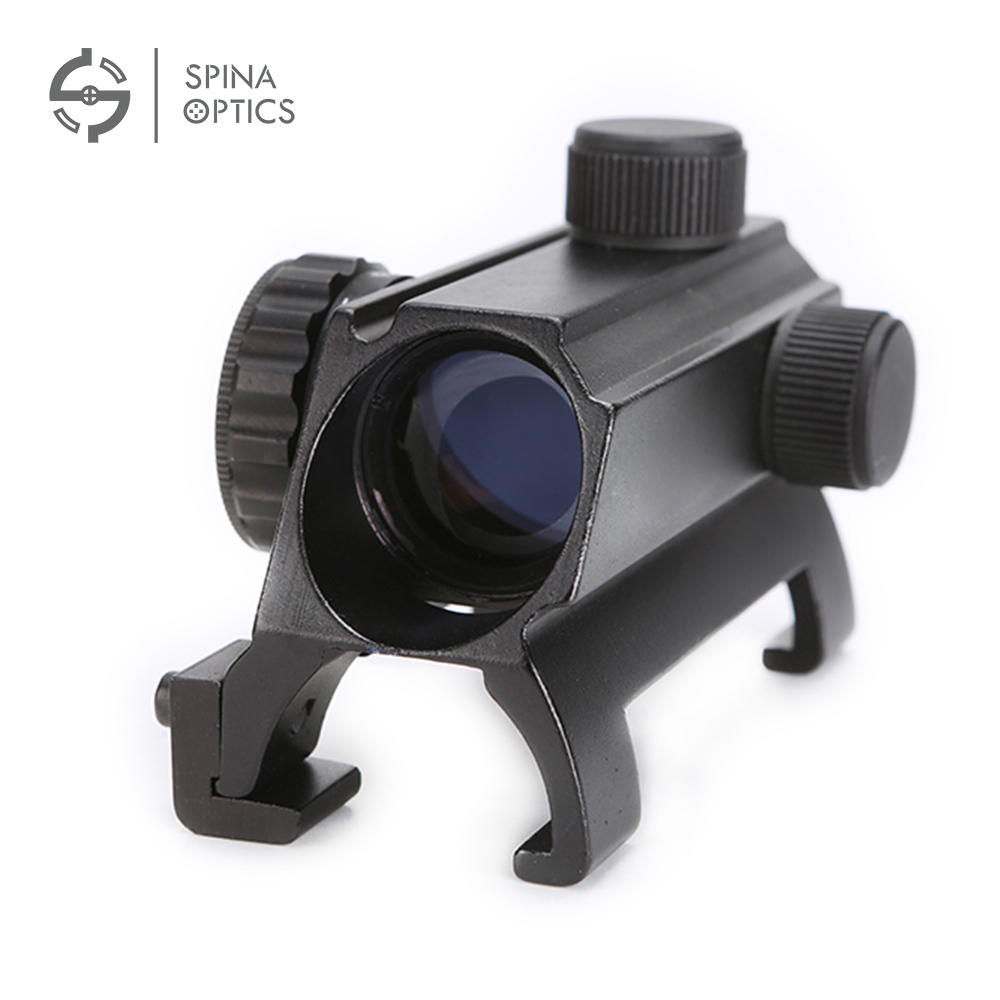 SPINA OPTICS 1x20 Compact 7 Levels Red Dot for HK Style MP5 G3 Optical Sight Red Dot Sight