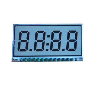 Grey Htn 7 segment lcd display 4 digit UNLCD20129