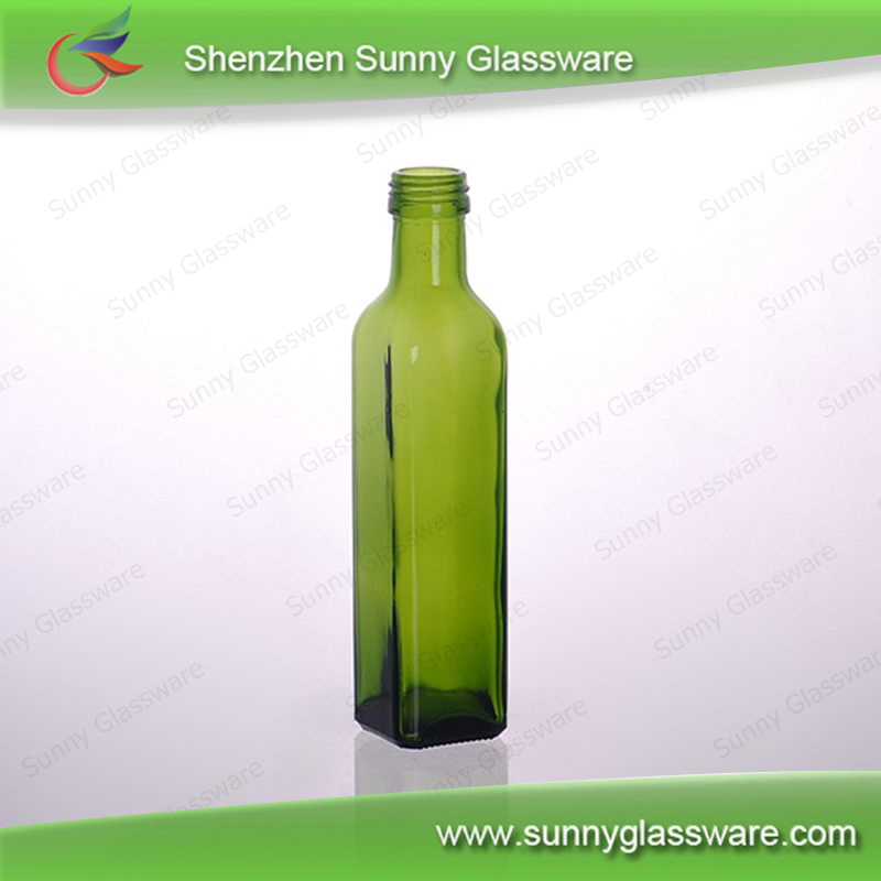 2015 new product olive oil bottle empty bottle for olive oil