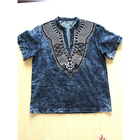 Royal wolf denim kurti manufacturer kurta embroidered shirt men kurtas and jeans