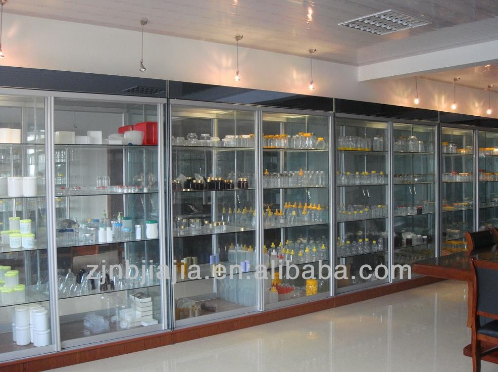 new product empty plastic PVC transparent jar