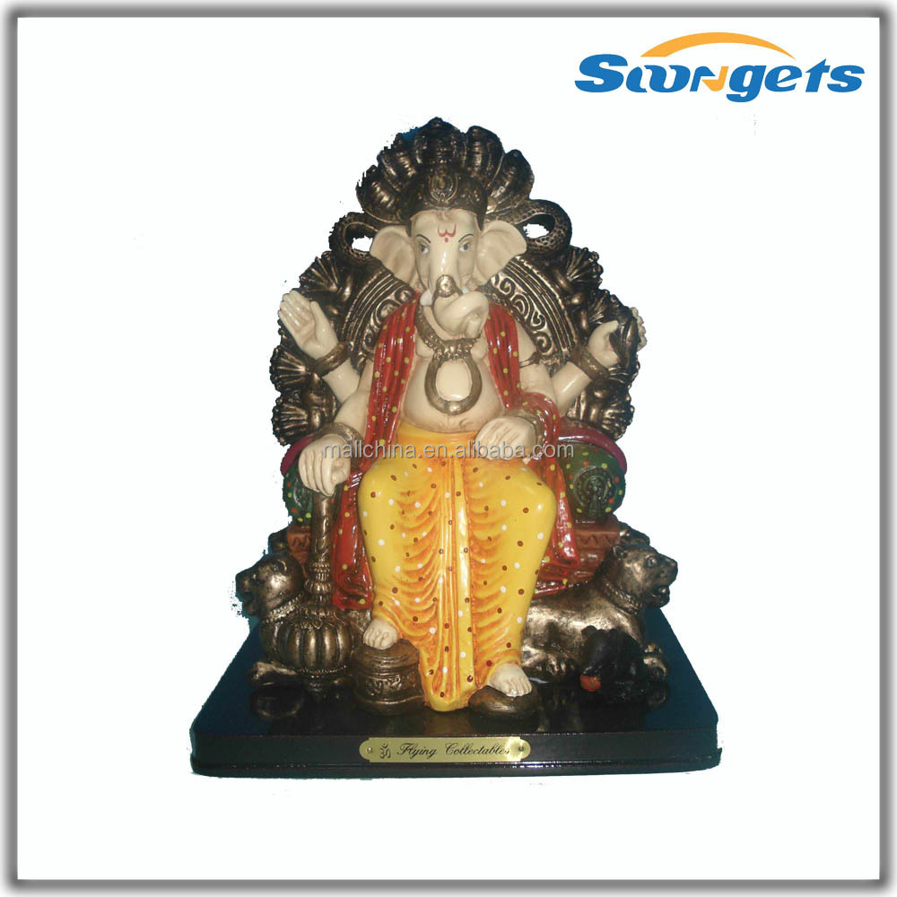 polyresin ganesh yxd214y india god standbeelden