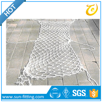 Penetration resistant safety netting