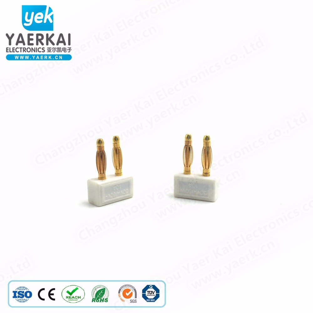 Collection Here 8pcs Gold Plated Short Circuit Socket Phono Connector Rca Shielding Jack Socket Protect Cover Caps Plug & Connectors Accessories & Parts