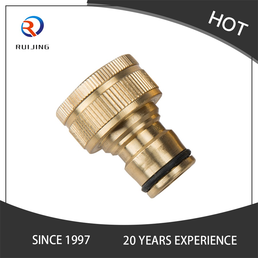 Brass Hose Quick Connect Garden Hose Tap Connector 1 Inch To 3/ 4 Inch Brass Hose Pipe Fittings