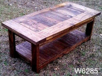 Rustic Wooden Coffee Table Export Wood Products Made In Vietnam W6285 Square Unique Tables Distressed