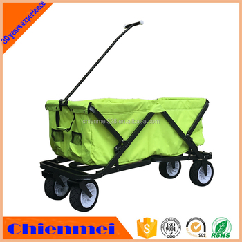 All Terrain Folding Garden Cart/kids Metal Wagons