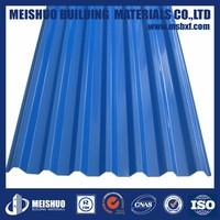 Zinc Coated roofing gi corrugated sheet weight