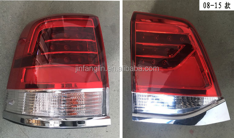 car body parts auto accessory car spare part tail light for TOYOTA land cruiser FJ200 LC200 2008-2015