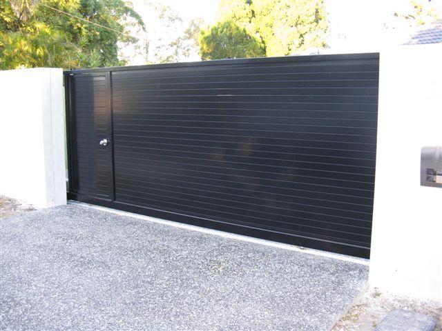 Sliding Barriers Gate Sliding Door Gate Modern Steel Gates