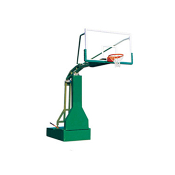 Competition sports equipment manual hydraulic basketball stand