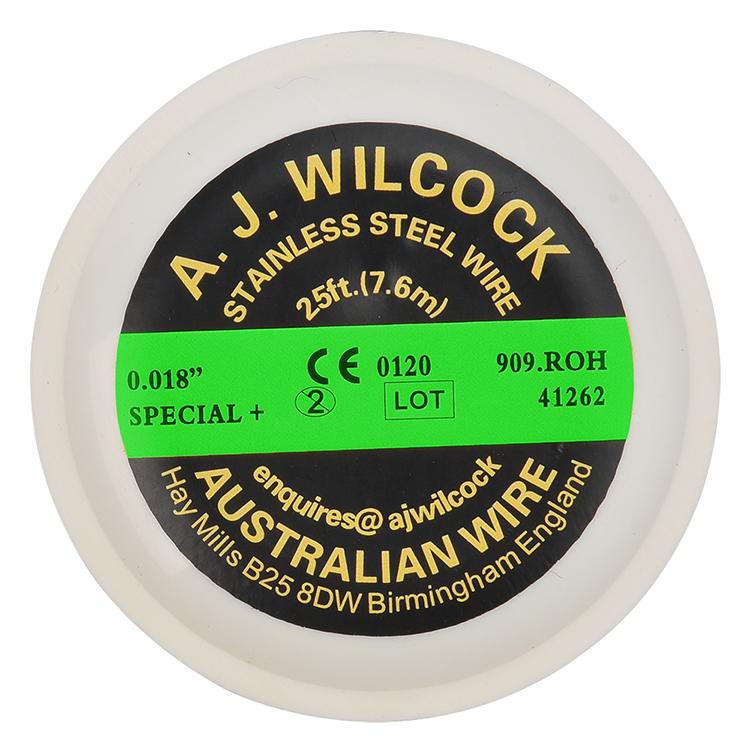 High Quality Elastic Sino Braided Orthodontic Dental Australian Arch Nit Ligature Reverse Wire Tma Niti Arch Orthodontic Wires