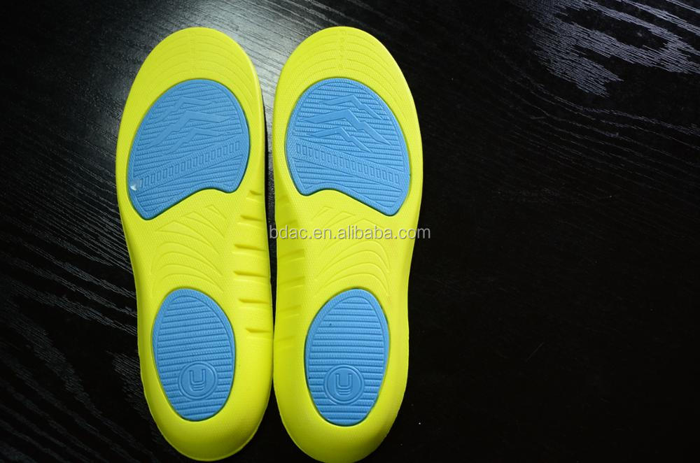 PU Foam Shock absorption sport insoles