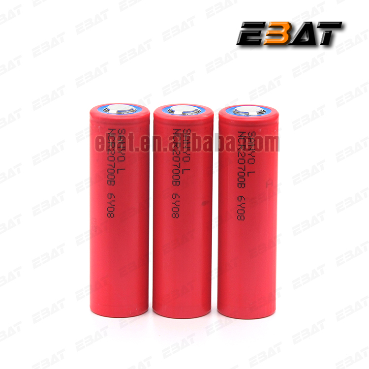 Hot sale SANYO 20700B 20700 4250mAh NCR20700B high rate battery