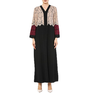 New season women islamic maxi dresses modest muslim dress abaya