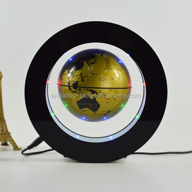 Toy world globe, ที่ไม่ซ้ำกันครูลูกโลกของขวัญ, แม่เหล็กหมุนจอแสดงผล