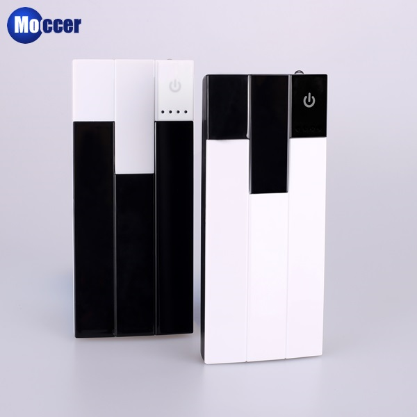new product piano key shaped travel charger power bank 10000mah